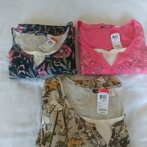 BASIC EDITIONS BLOUSE